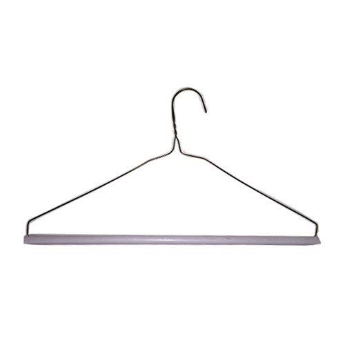 Strut Tube Pant Hangers 16'' 14.5g (White, Box of 500) by 3 Hanger Supply Co.