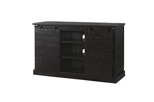 Cabinet Antique Black Media (Martin Svensson Home 90936 Lancaster 60