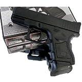 Nerd Clear Mini G-Style Softair-Pistole ca. 15 cm Match Waffe Airsoft Munition Kugeln schwarz 6 mm unter 0,5 Joule ab 14 Jahre