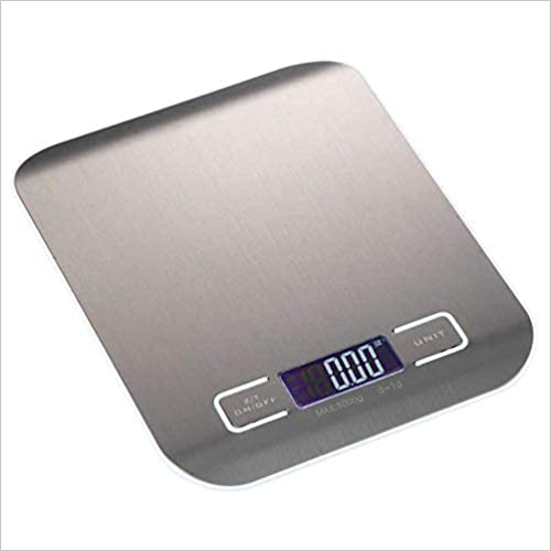 Kitchen Scale Stainless Steel Multifunction Digital Kitchen Electric Weighing Device Unknown Binding