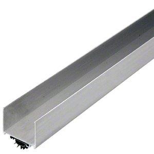 CRL Aluminum Finish Wrap Around Door Bottom with Vinyl Seal for 1-3/4 Doors 36''