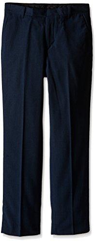 [Calvin Klein Big Boys' CK Pinstripe Pant, Navy, 18] (Navy Pinstripe Dress)