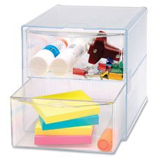 storage-organizer-2-drawer-6x6x6-clear-sold-as-2-each