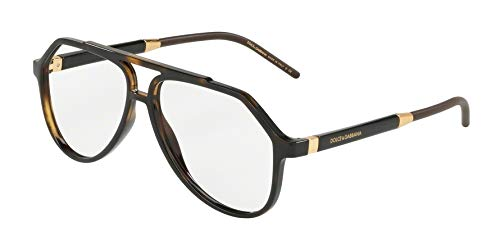 Dolce & Gabbana Eyeglasses D&G DG5038 DG/5038 502 Havana Optical Frame 56mm