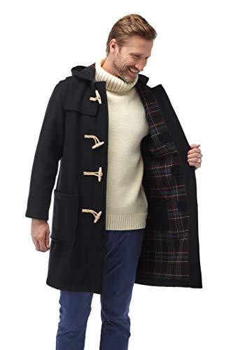 Original Montgomery Mens Wooden Toggles Duffle Coat (44, Navy)