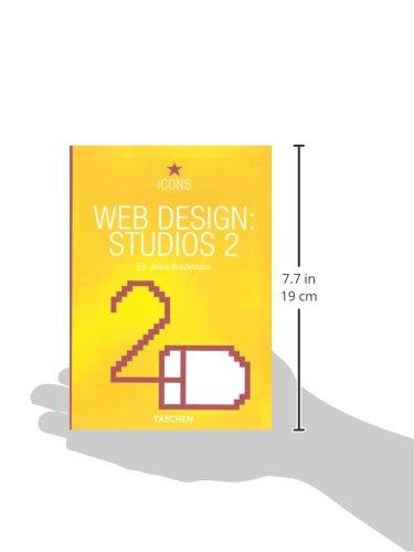 31NTji47CYL - Web Design: Studios 2 (Taschen Icon Series) (English and German Edition)
