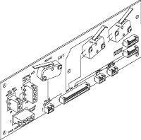 Up Interconnect (PCB) for Pelton & Crane PCB736