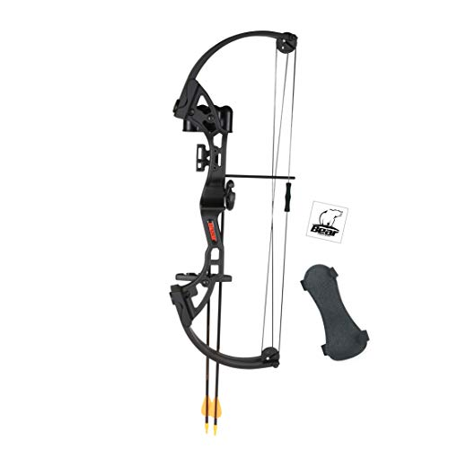 Genesis Compound Bow - Bear Archery Brave Youth Bow - Black