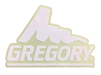 amazon gregory グレゴリー ステッカー old logo l wt sticker