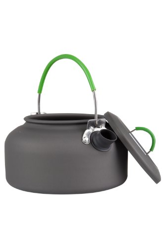 (Mountain Warehouse Camping Kettle -Compact Summer Hiking Stove Kettle Charcoal)