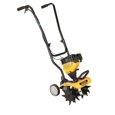 Cub Cadet 12 inch 29cc 4-Cycle Gas Cultivator with Foldable handle and Spring-assisted Pull Cord for Easier Manual Startup by CUB CADET