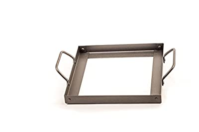 "Himalayan Chef Plate Holder for 8"" X 8"" X 2"" Salt Cooking Plate, Black by Himalayan Chef"