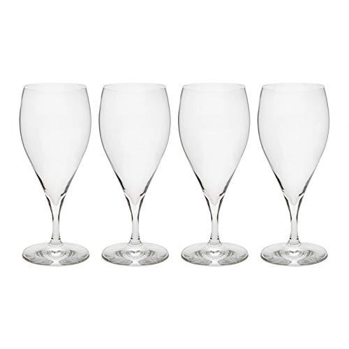Spiegelau European Stemmed Pilsner Beer Glasses, Set of 4