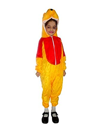 68f717ca2ad7 Buy SBDTM Cartoon Character Winnie The Pooh Costume for Kids Fancy Dress  Online at Low Prices in India - Amazon.in