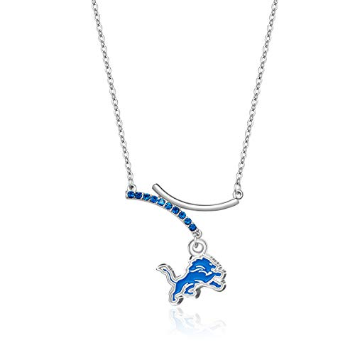 Pro Specialties Group NFL Detroit Lions Dual Infinity Necklace