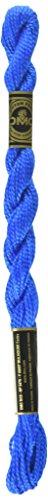 DMC 115 3-995 Pearl Cotton Thread, Dark Electric Blue, Size 3