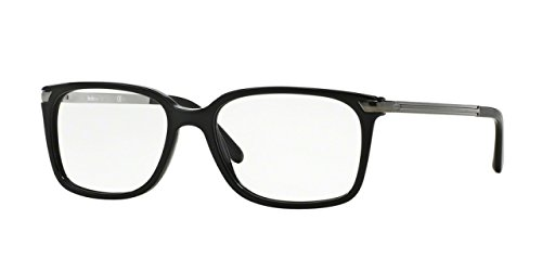Sferoflex SF1142 Eyeglass Frames C568-53 - Black SF1142-C568-53