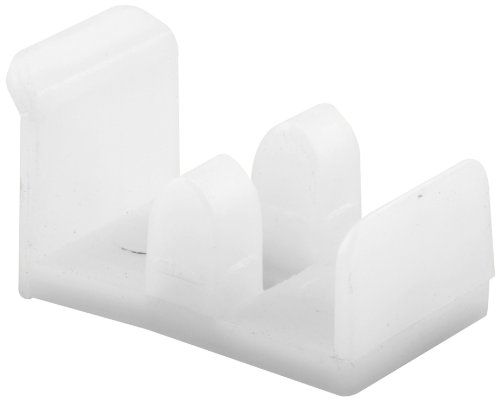 Prime-Line Products 193075 Sliding Shower Door Bottom Guide, Plastic (Bottom Sliding Door Enclosure Tub)