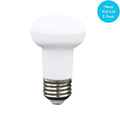 65WattR16IncandescentSpotLightMedium base Dimmable (7watt Led Spot Lamp) 65w Halogen Bulb Equivalent, 700lumen 120Degree 120Voltage Indoor Spot