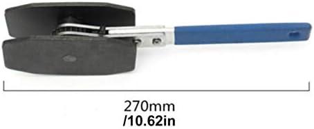 ラチェットブレーキ高速で強力なキャリパーレンチ自動修復修理ツール高速ブレーキピストンセパレーターブレーキレンチディスクブレーキ-ブルー