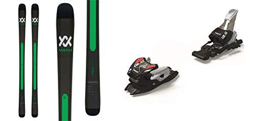 Volkl Kanjo 168cm Skis 2019 & Marker 12.0 TPX Black Silver 90mm Brake Ski Bindings