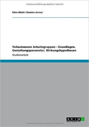 Aspekte und Konzepte von Gruppenarbeit (German Edition)