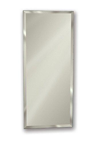 Jensen 768M34WHX Bevel Mirror Medicine Cabinet, 12