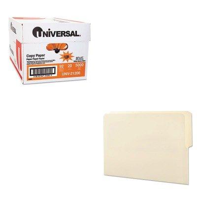 KITSMD24127UNV21200 - Value Kit - Smead Folders (SMD24127) and Universal Copy Paper (UNV21200)