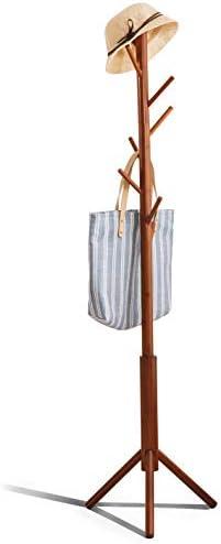Premium Bamboo Coat Rack Tree