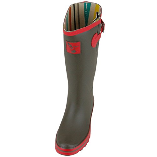Evercreatures Ladies Evergreen Wellies Army Surplus in Green - Various Sizes
