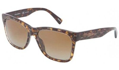 Dolce & Gabbana Womens Sunglasses (DG4158) Brown/Brown Acetate - Polarized - - Gabbana Dolce Spectacles