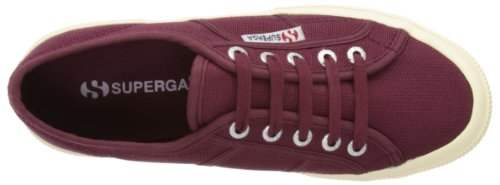 Red Bordeaux Cotu Women's Sneaker 2750 Superga Dark ApI0q1Hw