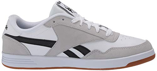 Reebok Men's Club MEMT Sneaker, White/Steel/Black, 10