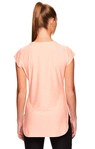 Reebok Women's Legend Performance Top Short Sleeve T-Shirt - Desert Flower Heather, Extra Small by Reebok (Image #3)