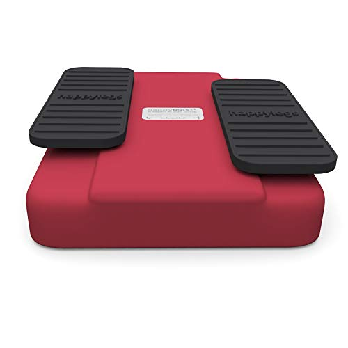 Great Chi Swing Machine happylegs Red Edition- The Seated Walking Machine + Foot Straps. The Best Passive Leg Exerciser Worldwide 2019