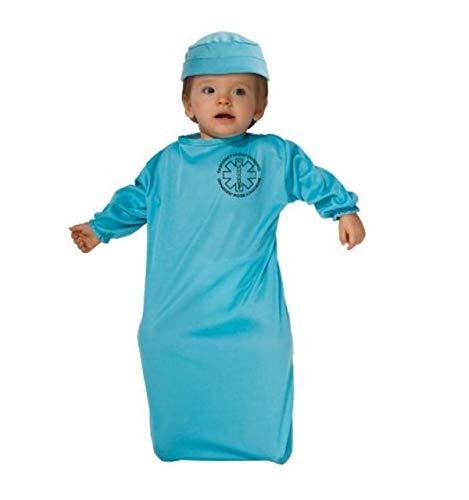 Rubie's Costume Tyke Or Treat Baby Bunting Costume Surgeon, Surgeon, 0-9 Months -