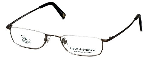 Field & Stream Designer Eyeglasses FS012 in Gunmetal DEMO...
