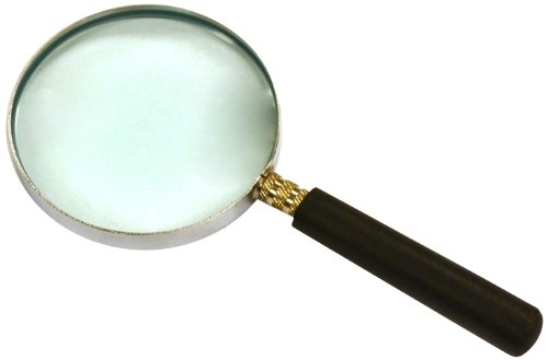 """Eisco Labs Magnifier, Reading Glass - 2"""" diameter, 12cm Focal Length, 3X by EISCO"""