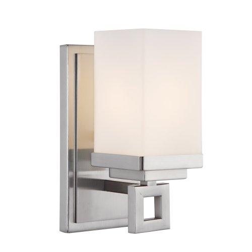 -BA1 PW Nelio One Light Wall Sconce, Pewter Finish ()