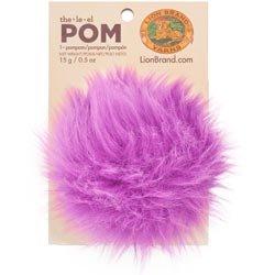 UPC 023032011318, Lion Brand Yarn 602-147 The Pom (single), Ultraviolet