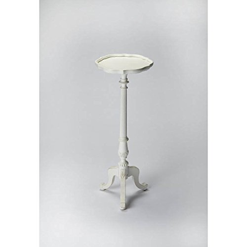 Butler Specialty Cottage White Pedestal Plant Stand