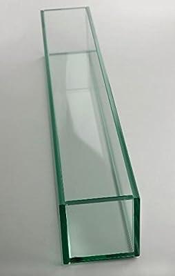 "Richland Long Glass Vase 24"""