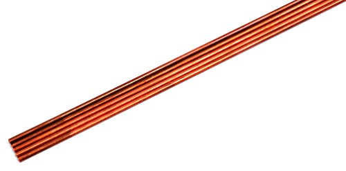 Solid Copper Rod (Five Pack of 1/8