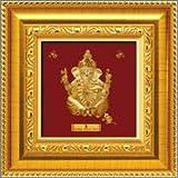 A9 Baby Ganesha - Prima Art 24Karat Pure Gold Sheet Artwork