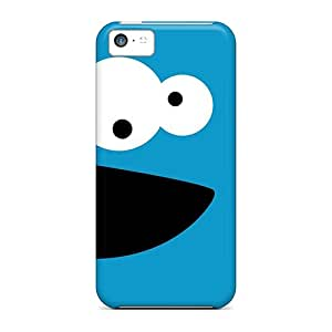 Iphone 5c PgR16127lqES Customized Vivid Cookie Monster Pattern Protective Hard Phone Cover -ColtonMorrill