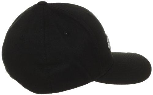 Columbia Men's Fitted Ballcap, Black, Small/Medium