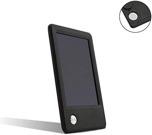 LKJASDHL 5インチミニタブレットオフィスポータブルメッセージボード子供用ライティングボードLCDタブレット黒板ペン (色 : 黒)