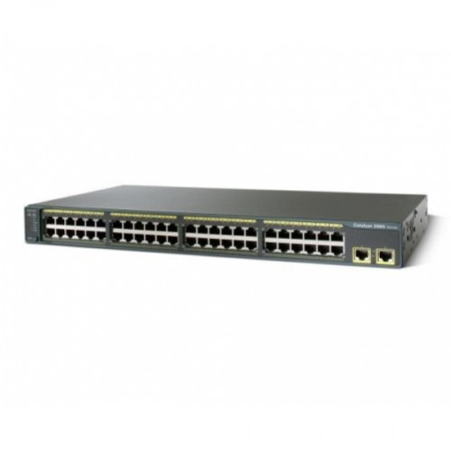 Cisco WS-C2960-48TT-L 2960 48 Port 10/100 Catalyst Switch by Cisco