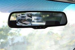 "Echomaster VM-35R Rear Camera Display Mirror with 3.5"" LCD Monitor"