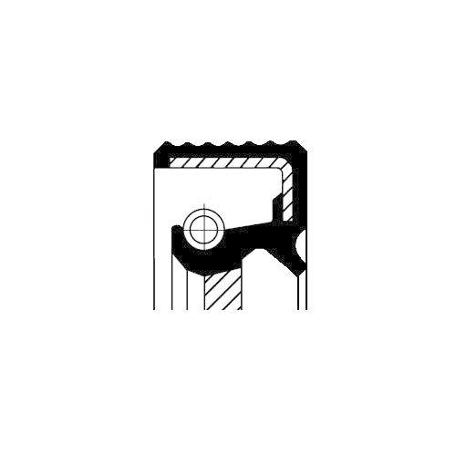 CORTECO 12036825B Wellendichtring Differential